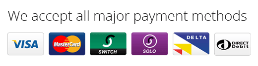 Major Payment Method Accepted