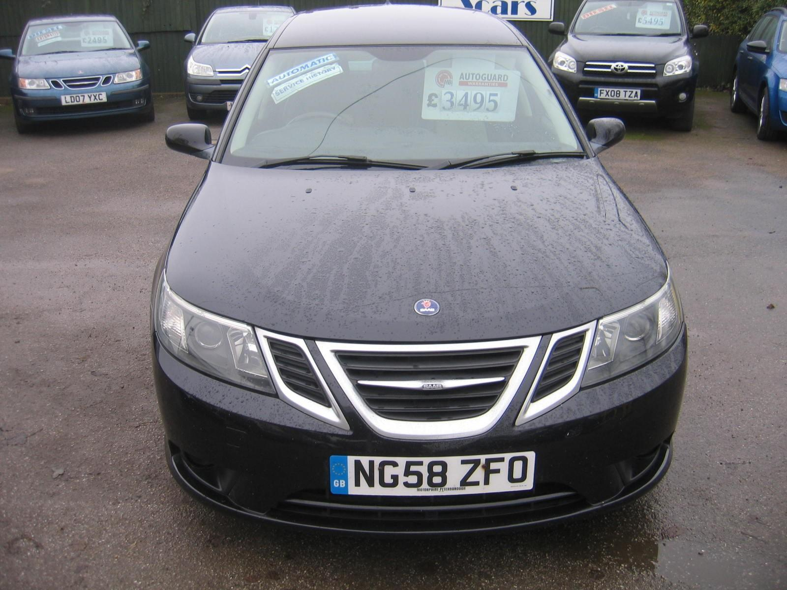 Used 2008 58 SAAB 9 3 18t SPORTWAGEN AUTOMATIC VECTOR SPORT IN